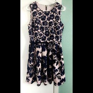 Beautiful Thick and Soft Blue & Pink Dress
